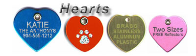 Big or small...hearts protect and identify with style